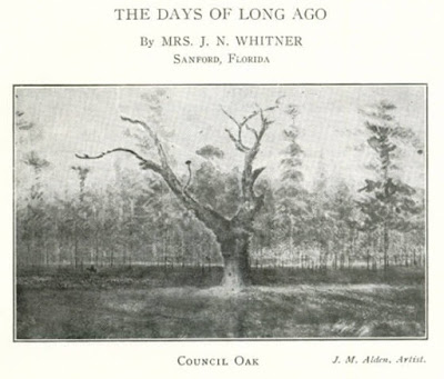 From the 1915 book, Early Settlers of Orange County by C. E. Howard