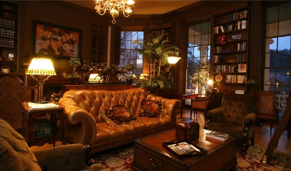 Library room in the Martha