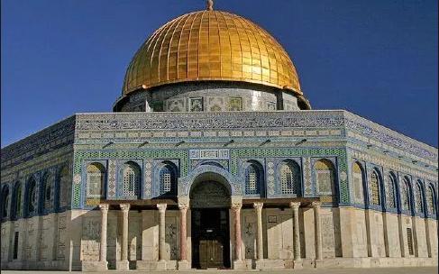 Al-Aqsa Mosque farthest mosque ending point of the Prophets Journey.