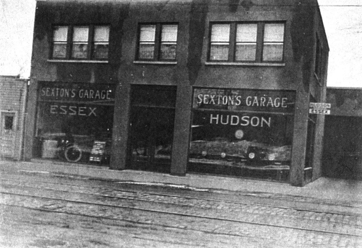 Sexton's Garage in 1920