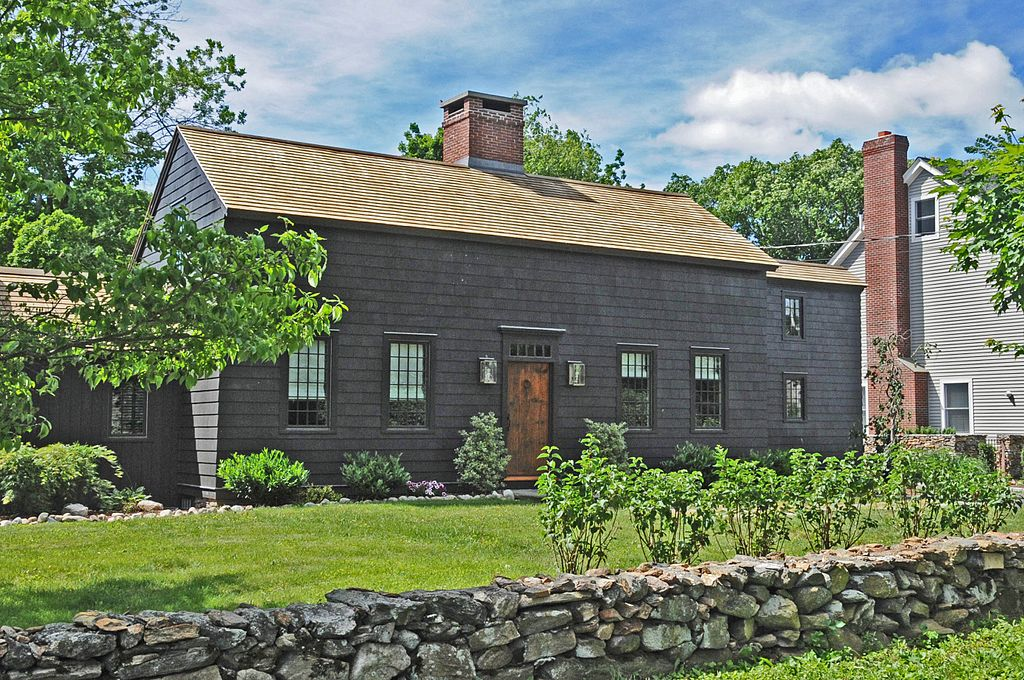 The John Osborne House is a rare example of unusual colonial-era architecture.