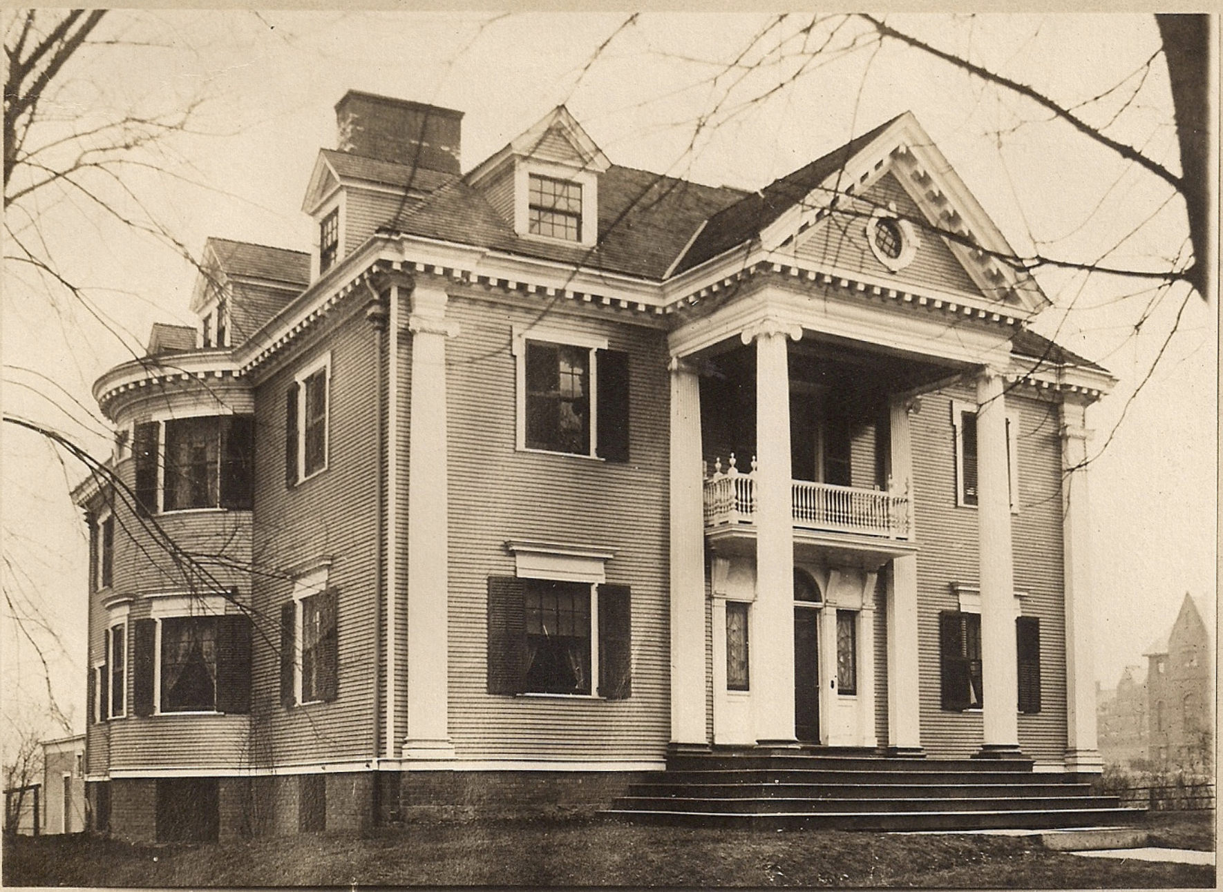 Psi Upsilon Chapter House 1910