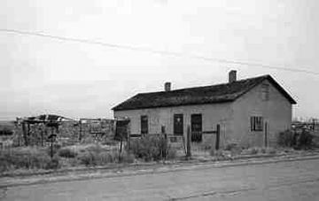 Granger Stage Station. Wyoming SHPO photo.