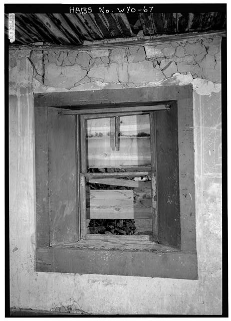 Interior Window of Granger Station.