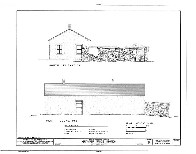 Sketches of Granger Station 2.