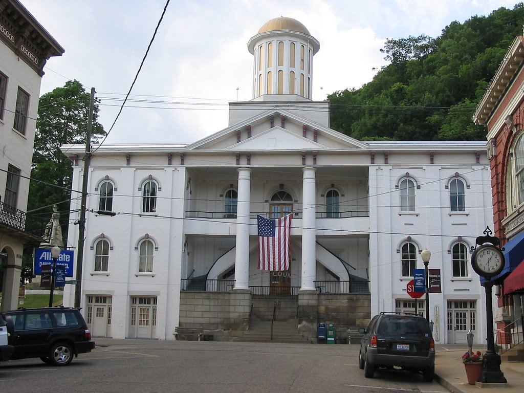 Meigs County Courthouse is the oldest surviving courthouse in the state of Ohio.