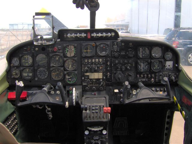 O-2 cockpit after restoration