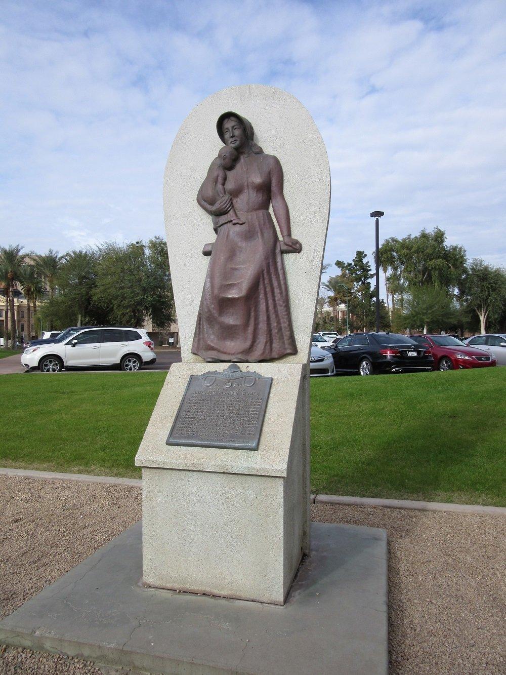 Arizona's Pioneer Women. Photo by Cynthia Prescott