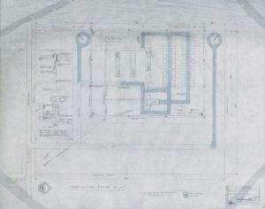 Blue print of the Tremonton POW camp