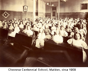 Original Catholic school created by the Archdiocese of Boston