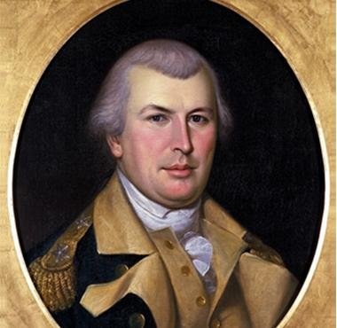 Portrait of Nathanael Greene while he led the Colonial Army.