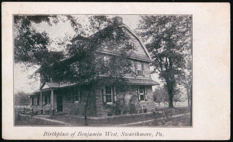 An image from the early 20th century of West's birthplace.