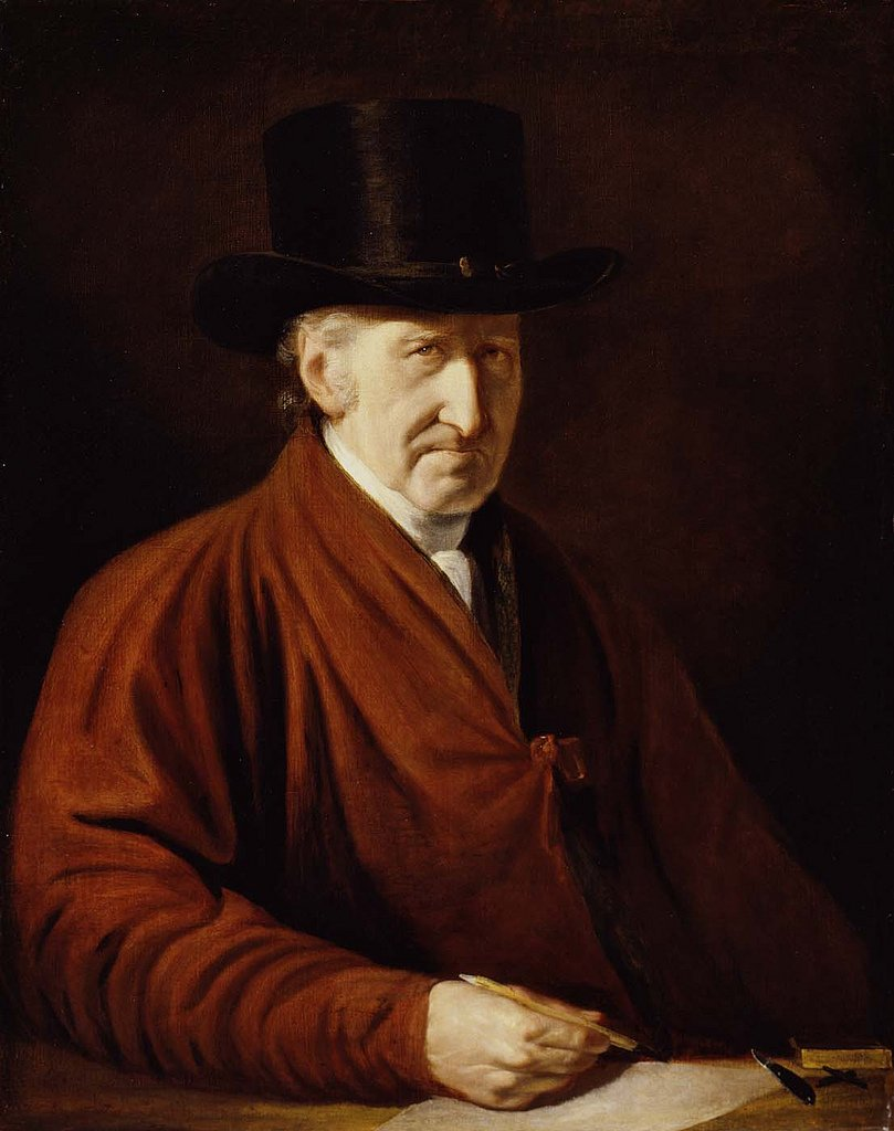 A self-portrait of West from 1819, a year before his death.