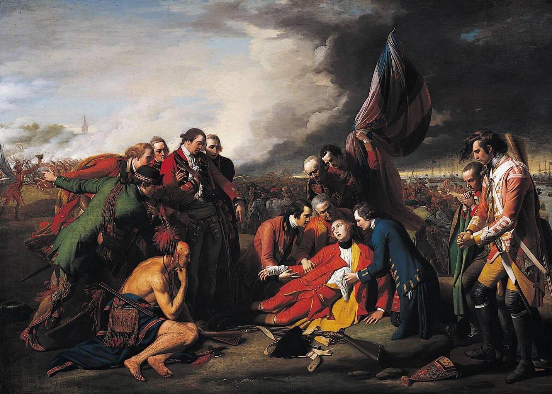 West's mythologized Death of General Wolfe.
