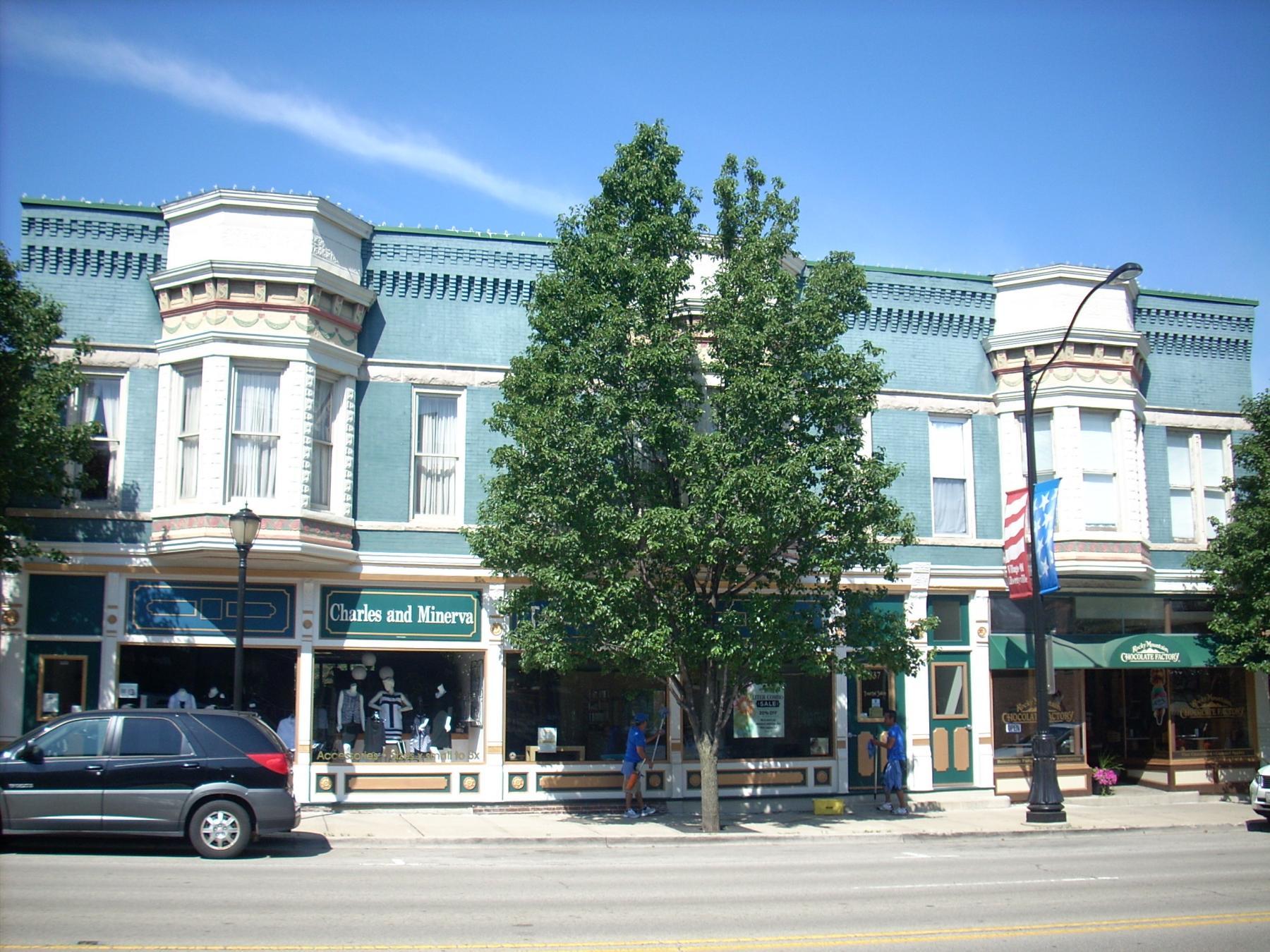 535-541 N. Milwaukee Avenue, circa 2006