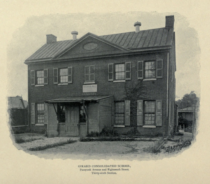Original schoolhouse, built 1833