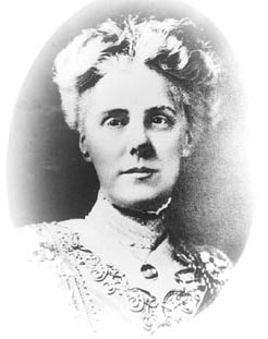 Anna Jarvis, the founder of Mother's Day.