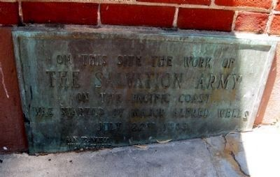 Salvation Army Historical Marker at 809 Montgomery Street in San Francisco