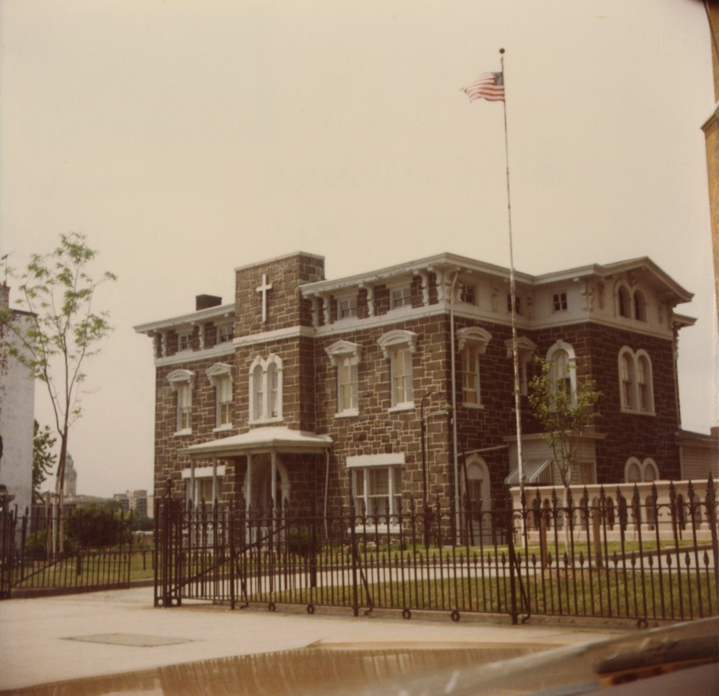John Copcutt Mansion (St. Casimir's Rectory) in 1978.