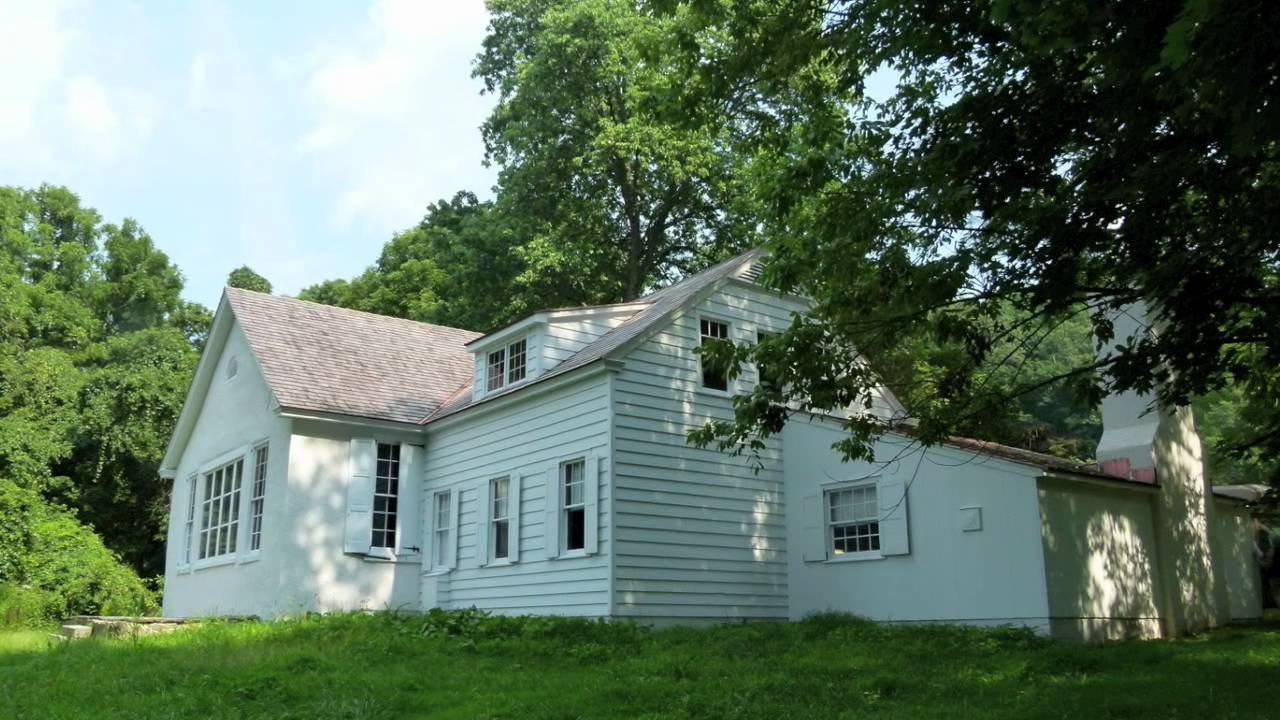 The converted schoolhouse that served as Wyeth's studio for over 70 years sits along Creek Road near the Brandywine River Museum of Art.