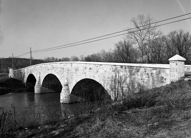 Van Metre Ford Bridge. Photo by Michael Keller