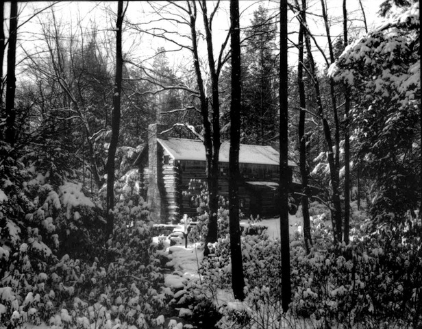 One of the Youghiogheny Forest Colony cabins