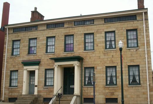 The F. Julius LeMoyne House holds a museum filled with period artifacts and exhibits that tell the history of LeMoyne and the causes he championed
