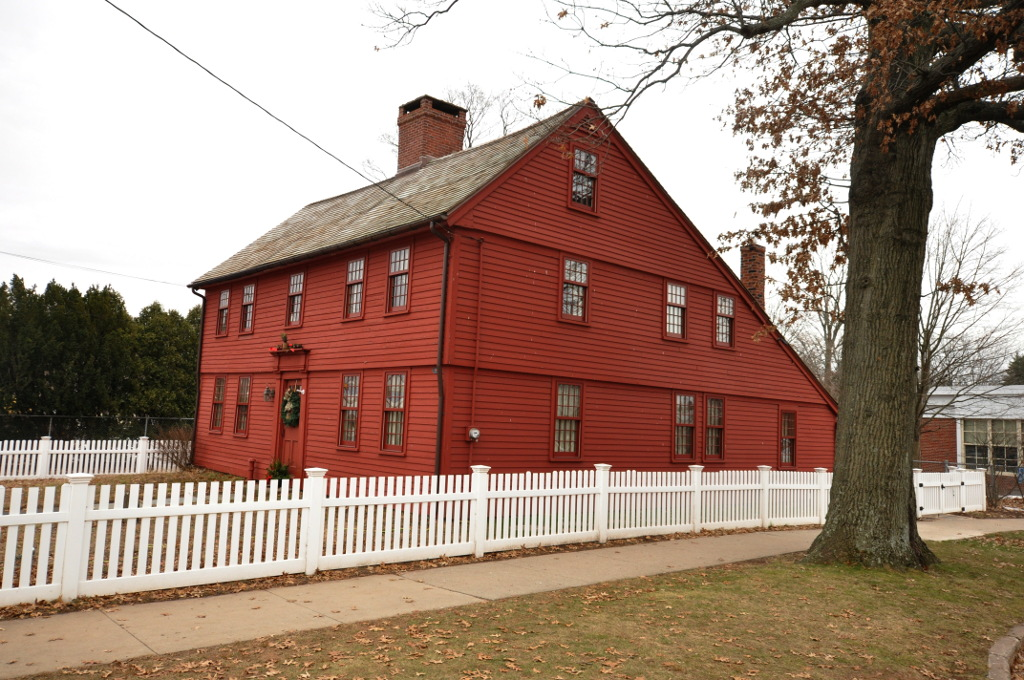 Andrews Homestead was built c.1760 and is maintained by the Meriden Historical Society.