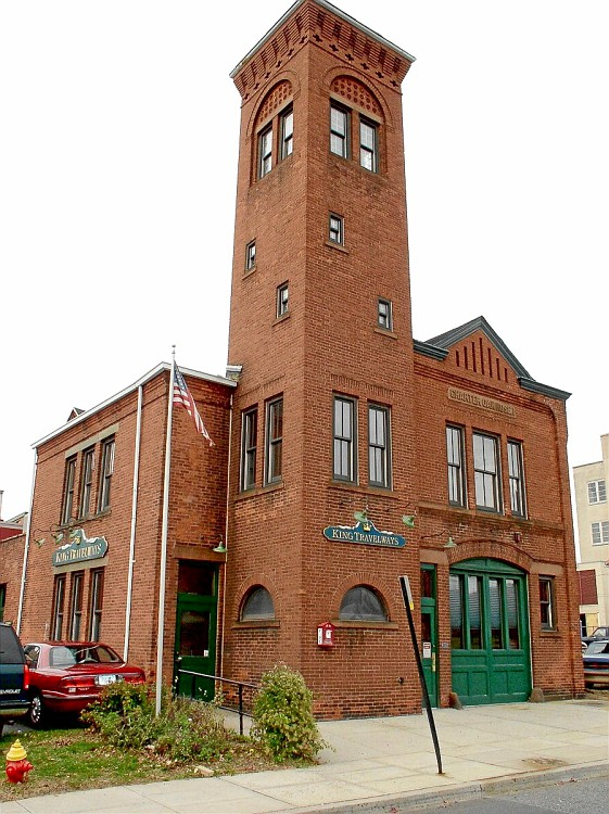 Charter Oak Firehouse was built in 1876, the first fire station built in Meriden.