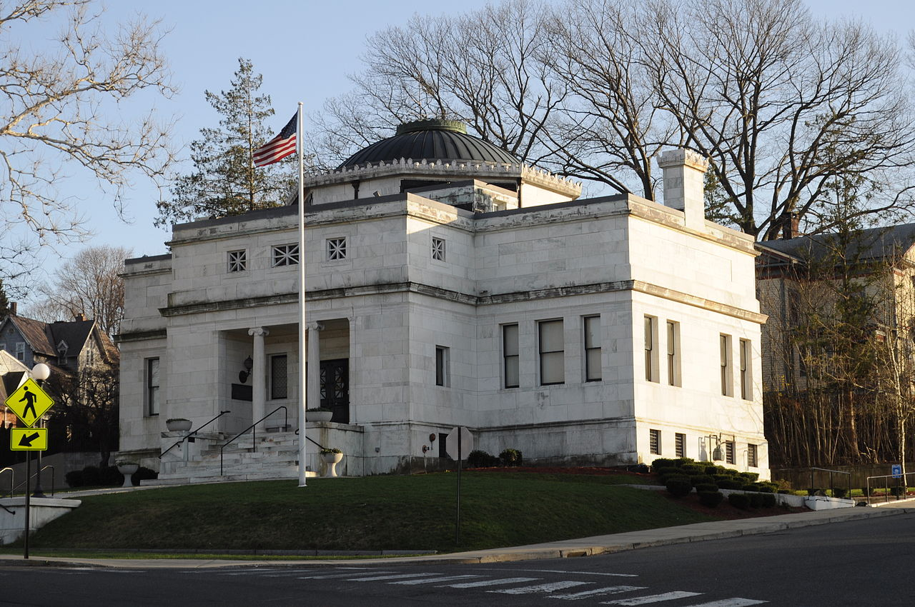 The former Curtis Memorial Library was built in 1903 and is listed on the National Register of Historic Places.