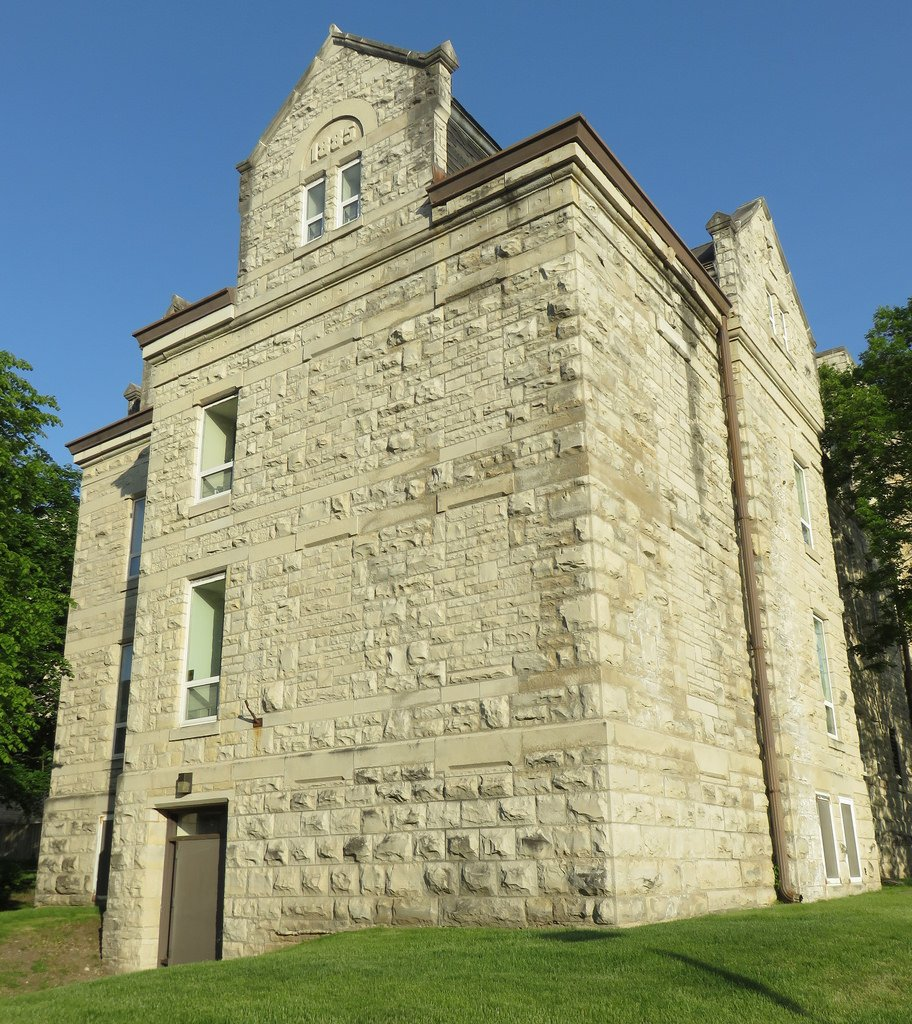 The historic jail served Waukesha County well into the 20th century. The recent courthouse rehabilitation included restoring the facade and converting the cell blocks into apartments.