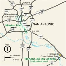 Map of Mission Trail including Rancho de las Cabras https://commons.wikimedia.org/wiki/File:NPS_san-antonio-missions-regional-map.gif