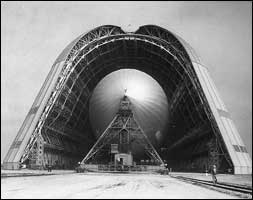Hangar One in 1933