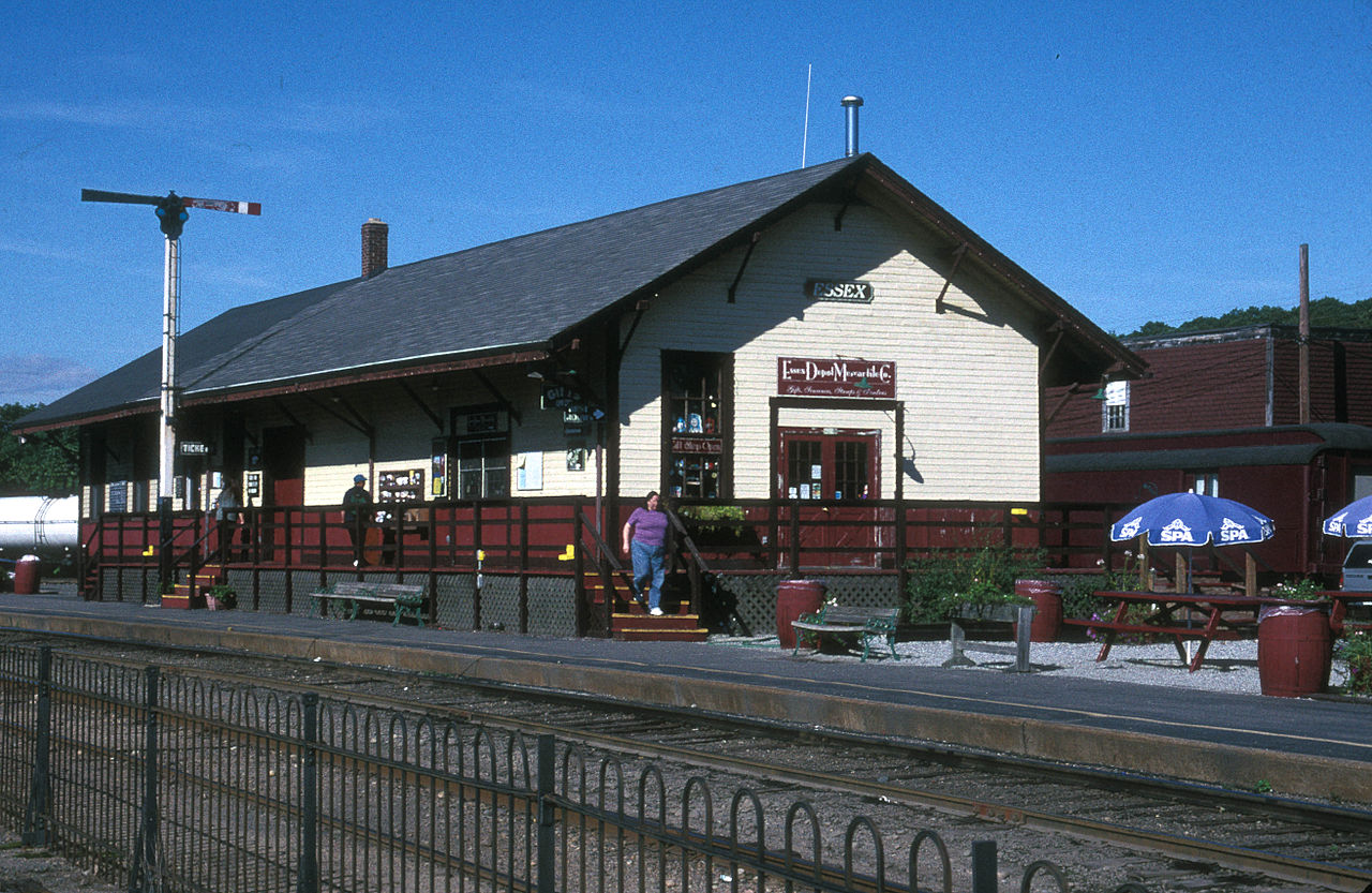 The Essex Freight Station was built in 1915.