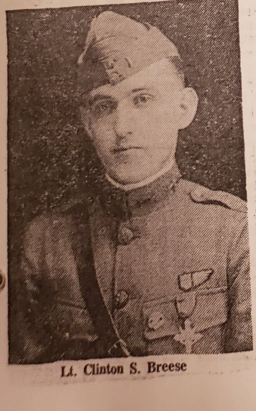 CLINTON BREESE 1918
