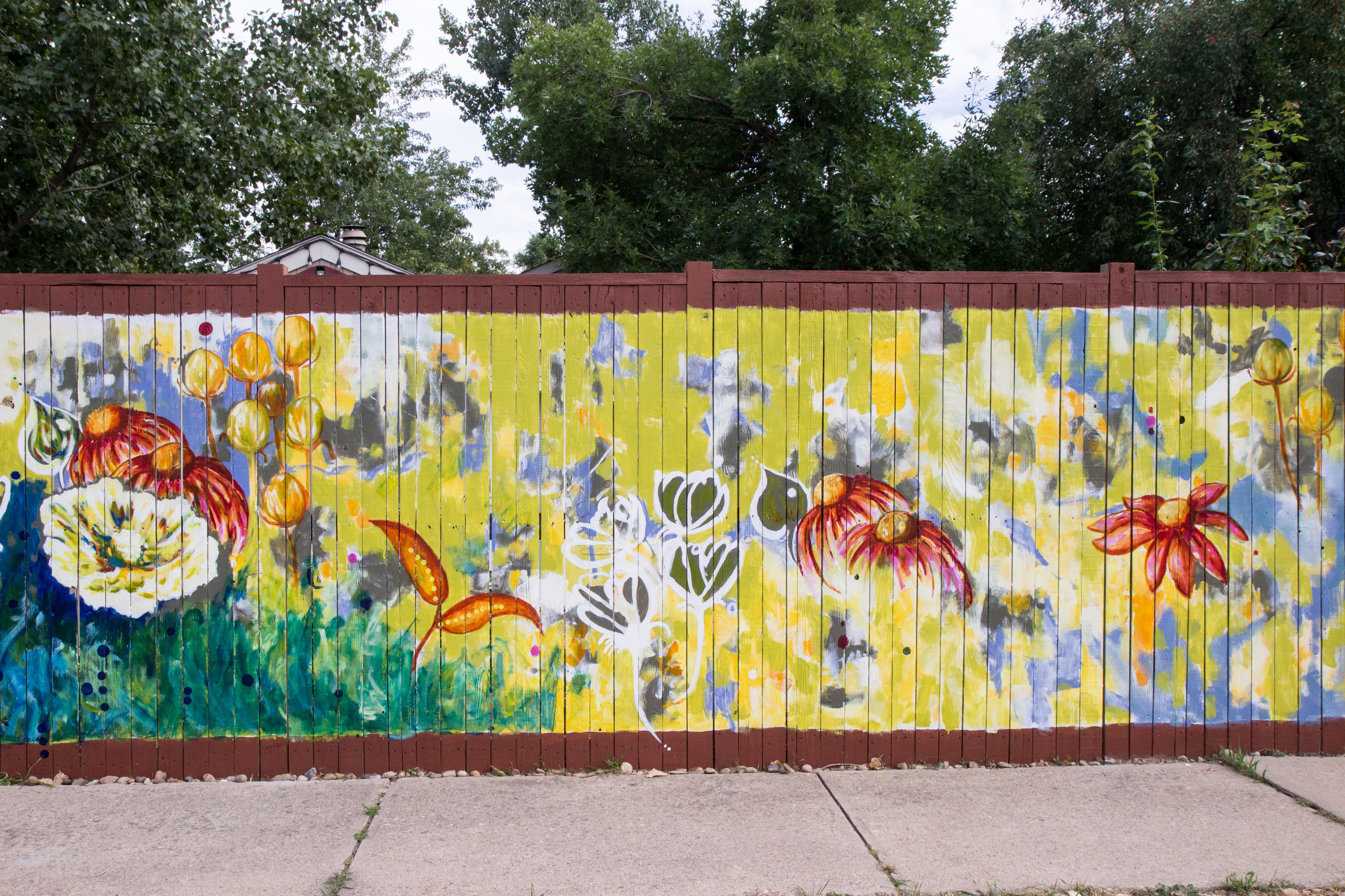 Mural by Catherine Pistone