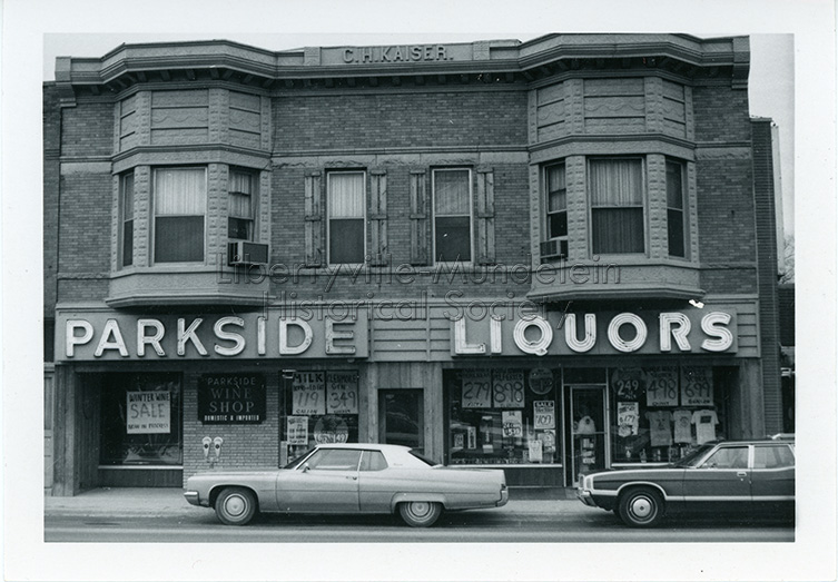 Parkside Liquors, circa 1974-1976