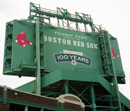 In 2012 Fenway celebrated its 100 year anniversary.