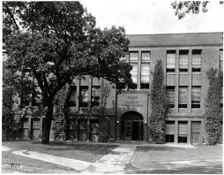 The building was the home of University High School from 1915 until 1953