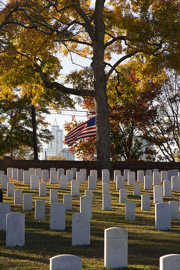 The Raleigh National Cemetery