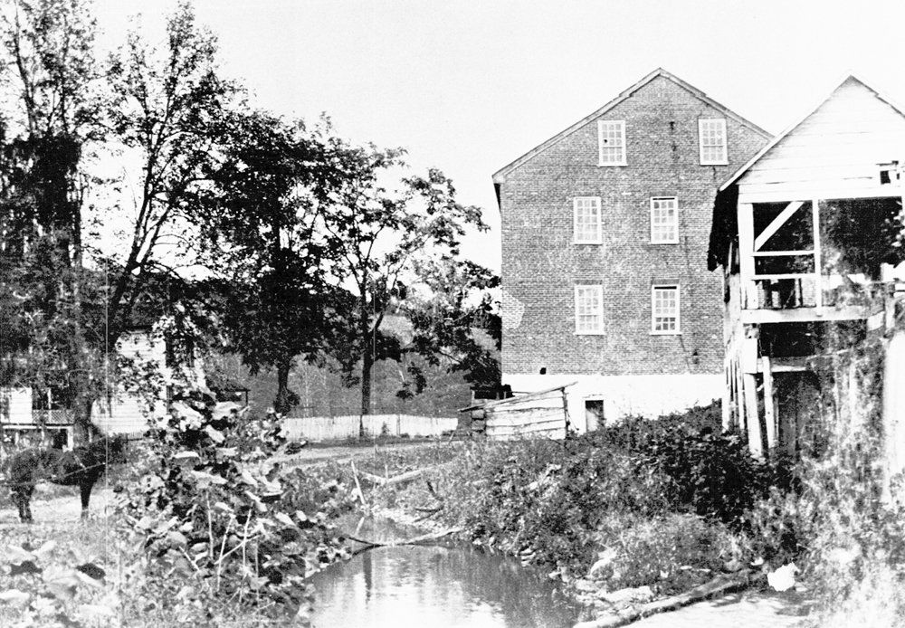 Folck's Mill in 1870