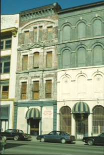 105 W. Main Street in Louisville after the closing of