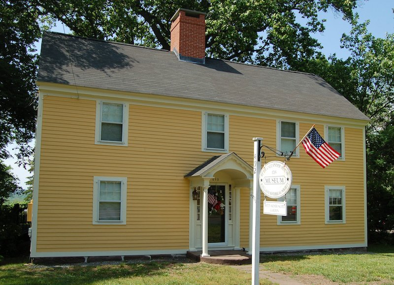 Established in 1973, the Portland Historical Society is located in this historic home built in 1714.