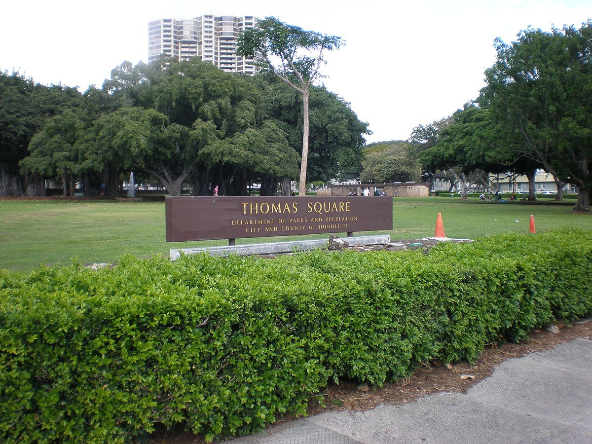 Thomas Square is the oldest park in Hawaii and was added to the National Register of Historic Places on April 25, 1972.