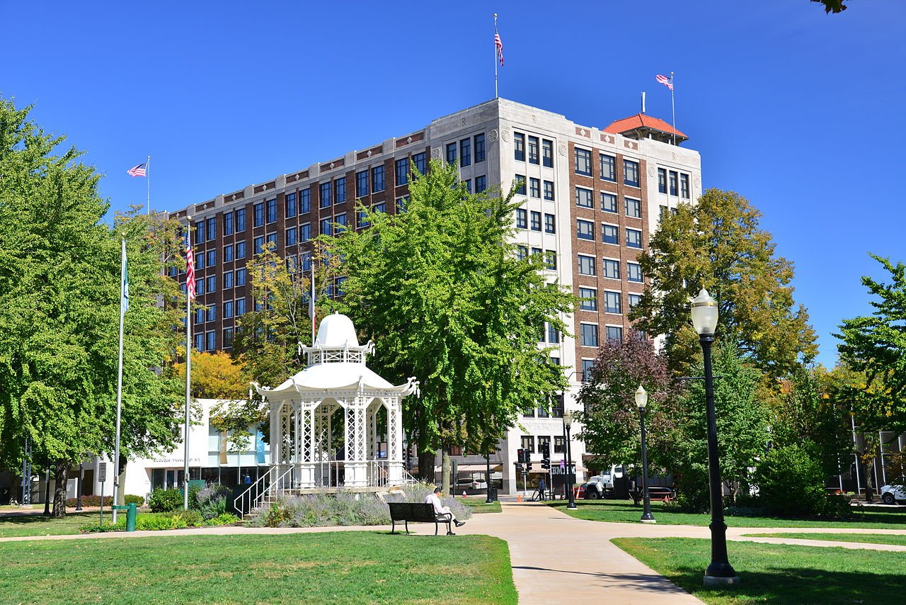 Washington Park was officially established in 1877, though it was a public square since 1833 when the city was founded.