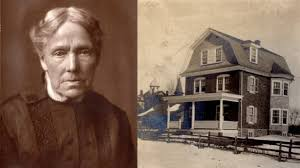 This is a picture of Dr. Broomall herself, as well as the South Philadelphia's first maternal care clinic, which she established herself.
