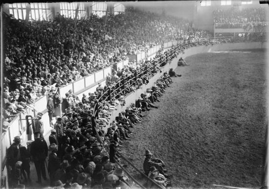 Photo of the Arena circa 1925