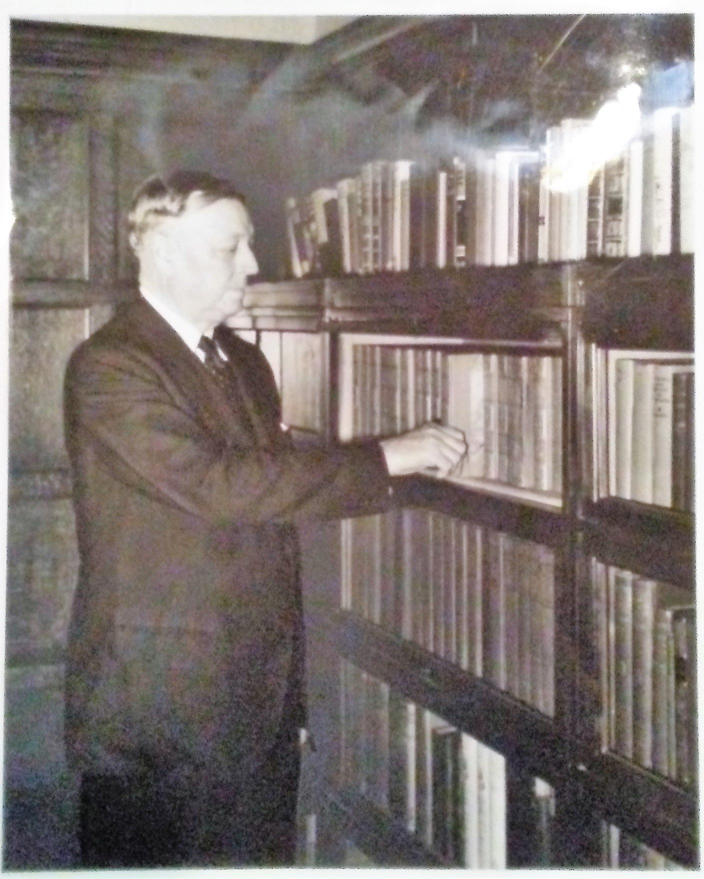 President Bizzell loved books. He worked during his tenure to increase academic publishing through the University Press and build a larger library on campus. He has a special collection of Bibles featured in Bizzell Memorial Library.