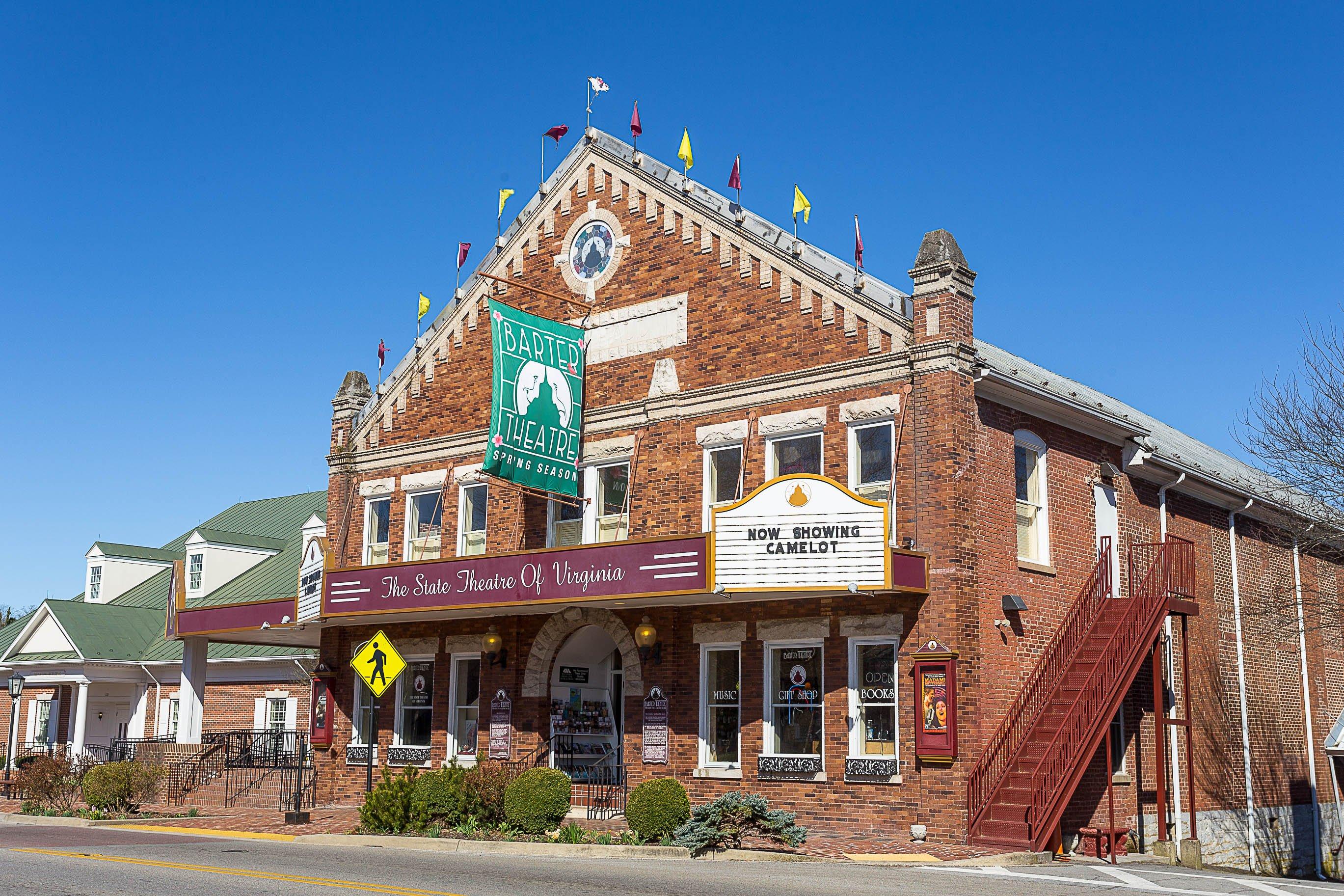 Barter Theatre facade