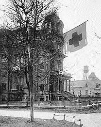 The Gardo House while the Red Cross resided in it.